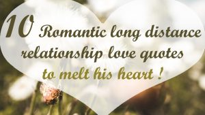 15 Romantic long distance relationship love quotes to melt his heart @It's Kaylee