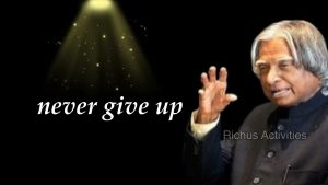 FAIL means   A P J Abdul Kalam Quotes   Whatspp status and quotes