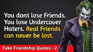 Fake Friendship Quotes -2 | Cheating Friends Quotes| Joker Motivational Quotes| Whatsapp  status