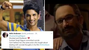 Fans quote 'Chhichhore' dialogue on failure and mental health after Sushant Singh Rajput's DEATH