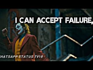 Top Joker Attitude Motivation Quotes| Failure Quotes