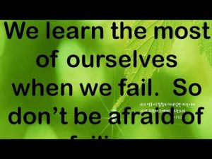 b3rski FAVE Quotes Collection – Don't be afraid of failing.
