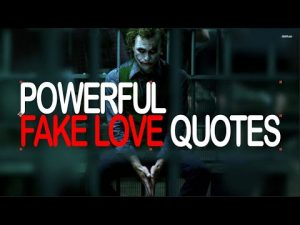 12 Most Powerful Fake Love Quotes ।।  Joker Quotes  ।। Badass quotes