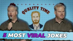 """Jim Gaffigan Top 5 MOST VIRAL Jokes from """"Quality Time"""""""