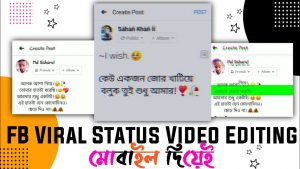 How to Make Facebook Viral Status Video | Kinemaster Video Editing | FB Status Video Editing |Inshot