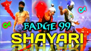Badge 99 Shayari Video 😍|| Free Fire Tik Tok Shayari Video|| Part 2