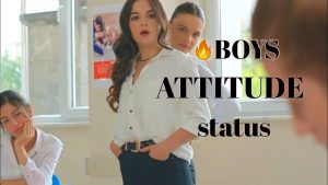 Boys🔥 killer Attitude status || Boy ignore girl status||