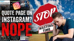 DO NOT START A QUOTE PAGE ON INSTAGRAM IN 2020 [Here's Why]