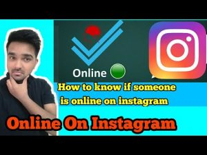 [Hindi]How to Know If Someone Is Online On Instagram