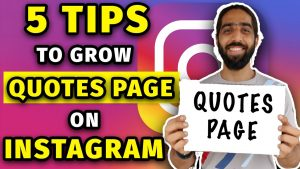 How To Grow Quotes Page on Instagram | How To Grow On Instagram 2021