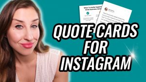 How To Make QUOTES For Instagram