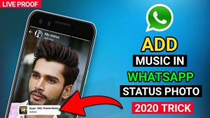 How to Add Music in whatsapp Status Photo in Android | whatsapp Status Par Song Kaise Lagaye | 2020