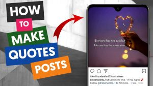 How to Design Quotes for Instagram Post on Phone? | Android Tutorial | Hindi | Tech Vox