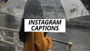 INSTAGRAM CAPTIONS: short and sweet