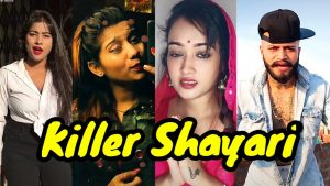 Killer Shayari/ One side love Hindi shayari/ boy attitude shayri/ poetry's