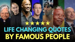 Life changing quotes by famous personalities | Hindi motivation by the willpower star |