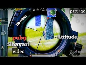 Pubg shayari video | part #20 | #Attitude Shayari