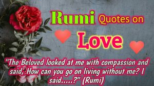 (Rumi Quotes) (Rumi Quotes on Love) (Rumi Quotes of Love and Life) (Rumi Love Quotes) Sufism