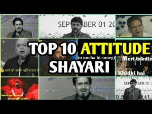 Top 10 Popular 😎Attitude Shayari | Best 😎Attitude Shayari Collection | $hayar Usman