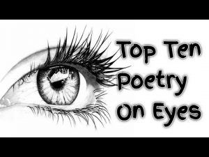 Top Ten poetry On Eyes (Top 10 Shayri On Eyes)