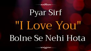 💞 World's Best Love Status for True Lovers 💓  Romantic Love Quotes in Hindi
