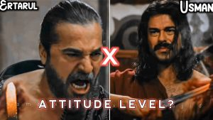 Ertarul and Usman mood off attitude status 🔥| whose acting is best comment below 👍