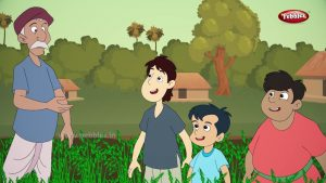 Farmer and his Lazy sons Story in English | Moral Stories in English | Storytelling For Kids