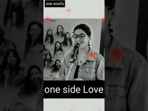 One side love 😍❤️❤️ poetry #Nidhi Narwal # one word's #shorts
