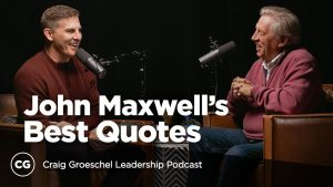 Q&A with John Maxwell: Inside His Best Quotes