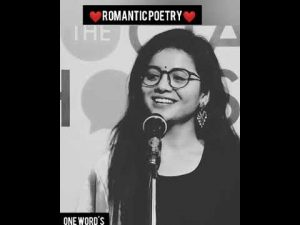 Romantic love poetry ❤️❤️ poetry #Nidhi Narwal #one word's #shorts