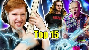TOP 15 BEST ROCK BASS LINES AND SOLOS OF ALL TIME