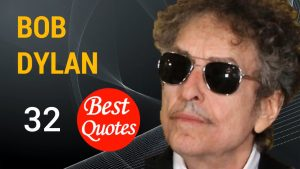 """🔴 The 32 Best Quotes by Bob Dylan 📌 """"Money doesn't talk, it swears."""""""